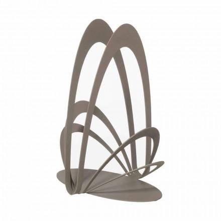 Suporte para copos de ferro de design artesanal, fabricado na Itália - Futti
