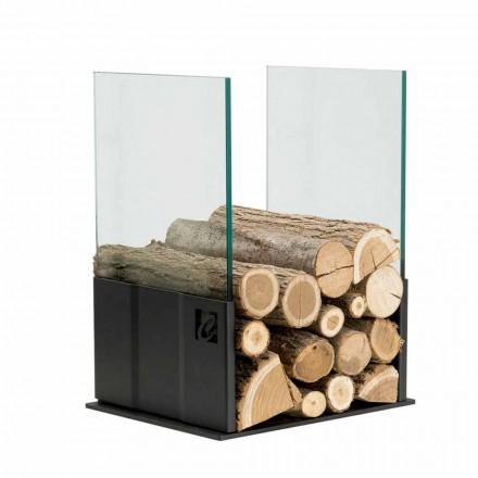 Porta-objetos em aço inoxidável com design moderno PVP fabricado na Itália pela Caf Design