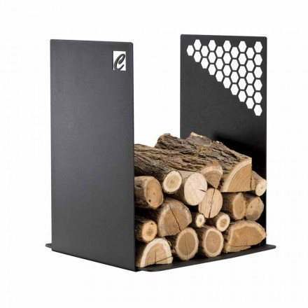 Porta-objetos de interior moderno feito de aço PLU, fabricado na Itália pela Caf Design