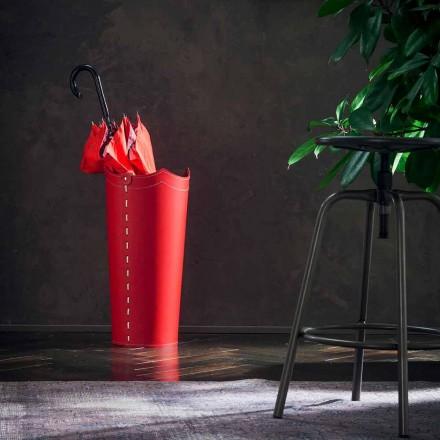 Carrinho de guarda-chuva de design em couro para casa ou escritório da Umbrella