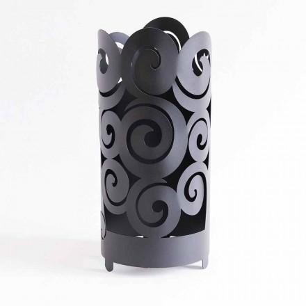 Porta guarda-chuva de design moderno em ferro colorido fabricado na Itália - Astolfo