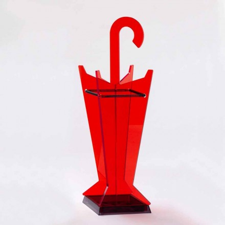 Guarda-chuva de design moderno em metacrilato colorido fabricado na Itália - papai