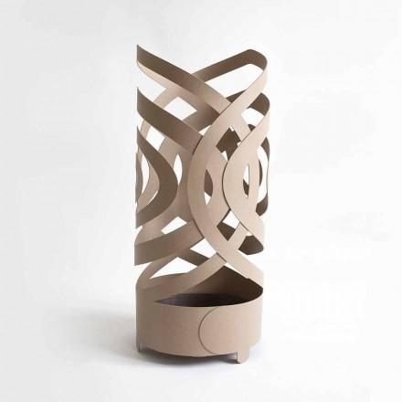 Porta guarda-chuva de design moderno em ferro colorido fabricado na Itália - Olfeo