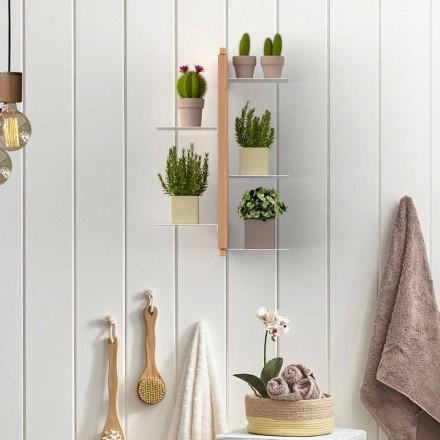 Suporte para plantas suspenso de parede Zia Flora