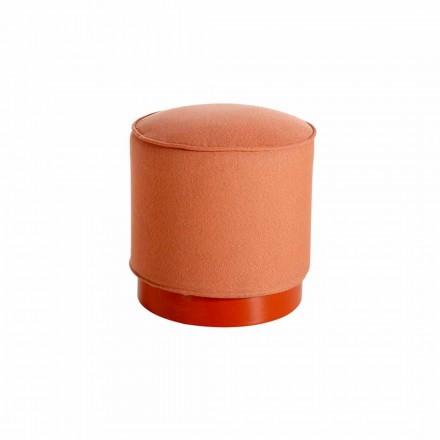 Puof exterior em polietileno e couro ou tecido - Mara Slide