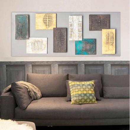 Pintura de tela de design moderno Andrew, com 8 elementos