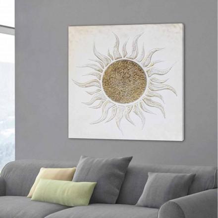 Design moderno pintando Luis com decorações feitas à mão