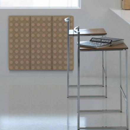 Radiador de água quente de design contemporâneo Brick by Scirocco H