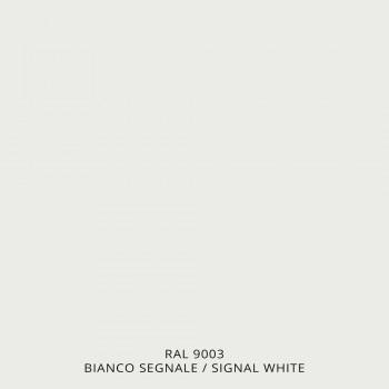 Radiador Aquecedor Elétrico de Toalha em Aço Branco - Shadow by Scirocco