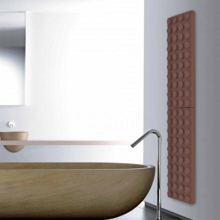 Designer lego tijolo radiador elétrico Tijolo feito na Itália Scirocco H