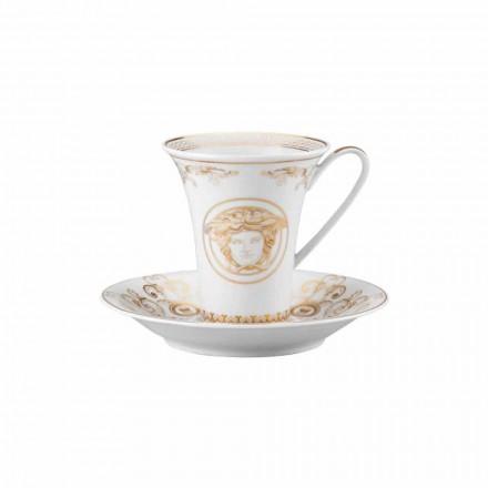 Rosenthal Versace Medusa Gala porcelana design moderno xícara de café