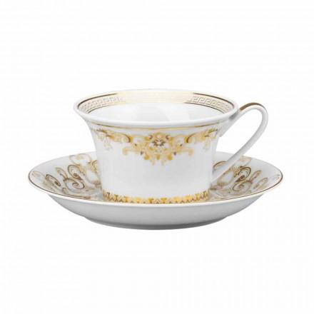 Projeto moderno da caneca do chá da porcelana da gala de Rosenthal Versace Medusa