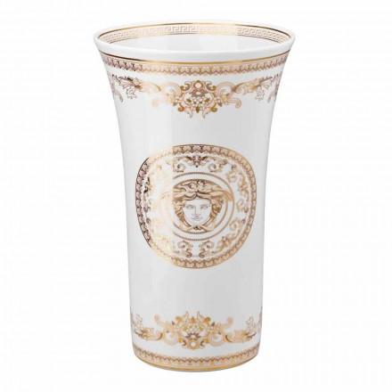 Vaso de porcelana Rosenthal Versace Medusa Gala h 34 cm design de luxo