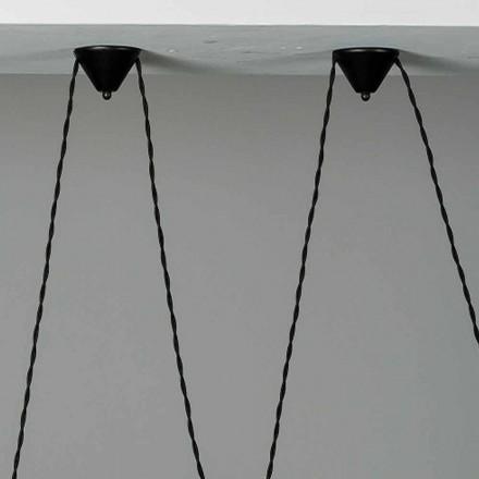 Composição para copa de flores de lâmpada Battersea 975ST - Toscot