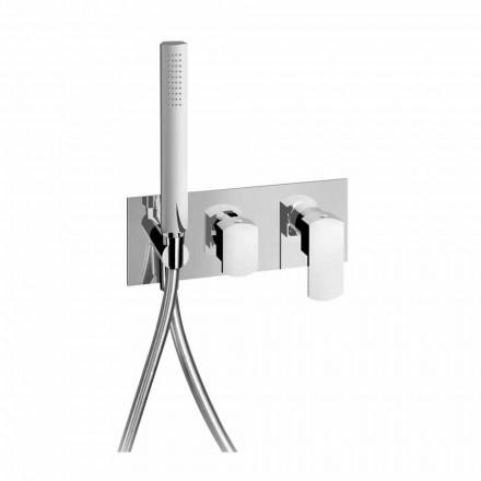 Torneira misturadora de chuveiro design com desviador de 3 vias Made in Italy - Sika