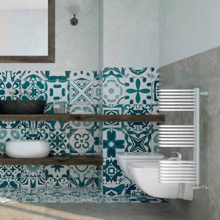 Toalha de água quente branca, design moderno, Corner by Scirocco H