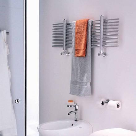 Aquecedor de toalhas de água quente horizontal Selene made in Italy by Scirocco H