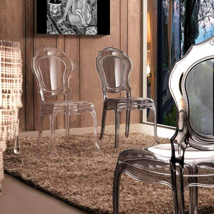 Cadeira de jantar clássica Janis