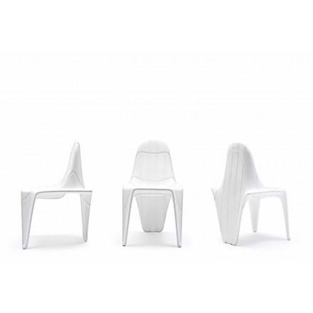 Cadeira moderna para exterior F3 by Vondom, feita com polietileno