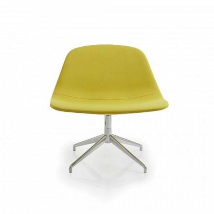 Cadeira de escritório Llounge, fabricada na Itália por Luxy
