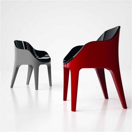 Cadeira de design moderno Ponteiro, feito na Itália, feito de Solid Surface