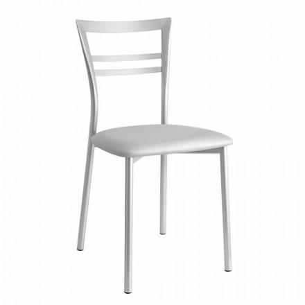 Cadeira estofada de design moderno fabricada em Itália, 2 pedaços  - Go