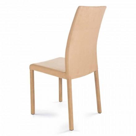 Cadeira de design moderno, feita na Itália, Jamila, para sala de jantar