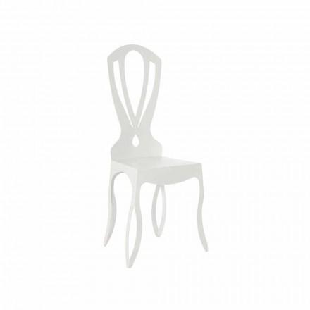 Cadeira de jantar moderna em ferro fabricada na Itália - Giunone