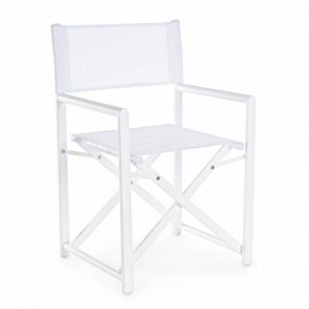 Cadeira de diretor de jardim de design moderno em alumínio para exterior - Cameo