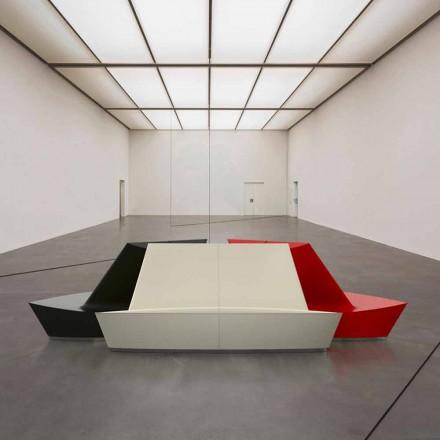 Sofá de design moderno Solid Surface C Lounge, artesanal na Itália