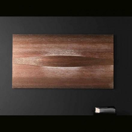 Selene Art & Light luz de parede moderna com painéis texturizados 140xH75 cm