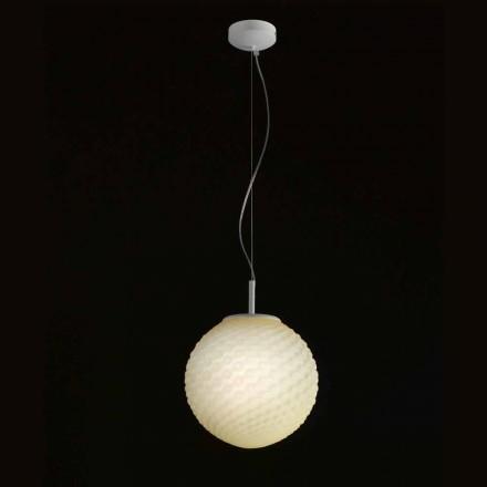 Selene Domino feito à mão pingente de luz Ø27 H 27 / 140cm, design moderno