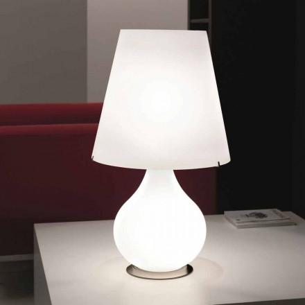 Selene Forever candeeiro de mesa moderno feito de vidro soprado, Ø41 H 72cm