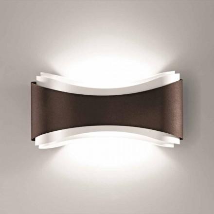 Lâmpada de parede Selene Ionica, feita na Itália, 40x12H20cm, design moderno