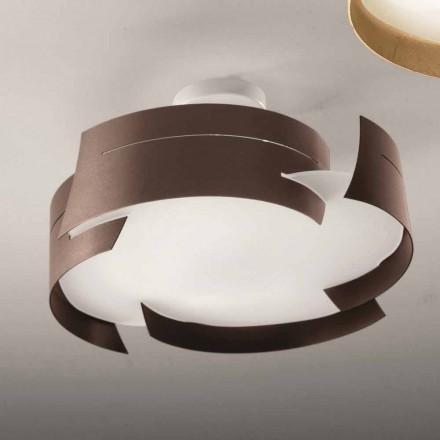 Luminária de teto em aço Selene Vultur, fabricada em Itália Ø47 cm, design moderno