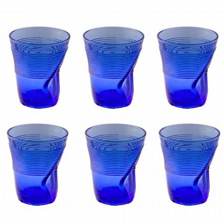 Serviço de copos de água de vidro colorido Design particular de 12 peças - Sarabi