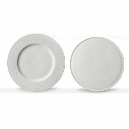 Travesseiros Gourmet Design em Porcelana Branca 2 Peças - Flavia