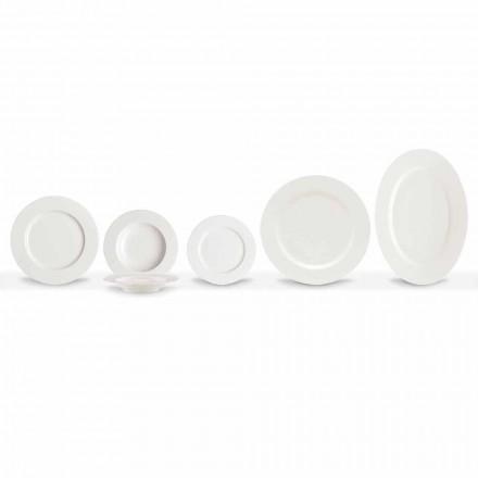Pratos de Porcelana Elegantes e Modernos, Conjunto de 20 Peças - Arendelle