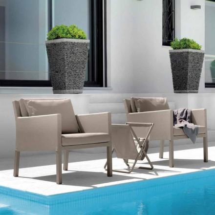 Cadeira de jardim de textilene Step by Talenti