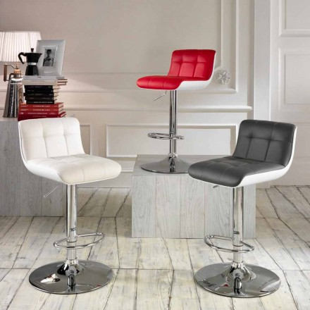 Conjunto de 2 cadeiras estofadas Ida, design moderno
