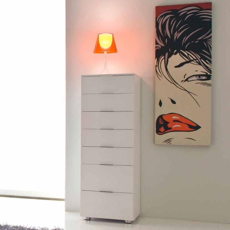 Design moderno lacado branco brilhante de Roberto