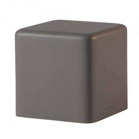 Banqueta de cubo de poliuretano macio Slide Soft Cube design made in Italy