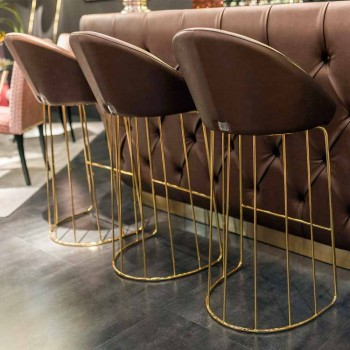 Banqueta moderna 100% Made in Italy Dedo