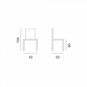 Banqueta Ecoleather Design para cozinha ou sala de jantar H 80 cm - Celine