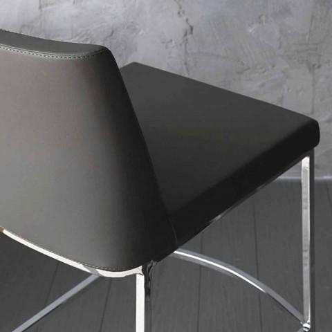 Banqueta de design para cozinha ou sala de jantar Celine H80