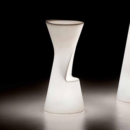 Banqueta Externa Luminosa em Polietileno com LED Made in Italy - Desmond