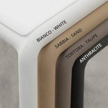 Banqueta de resina H65 e design moderno em fibra de vidro fabricado na Itália Grosseto