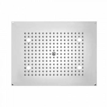 Shower Bossini retangular com jato e luzes LED