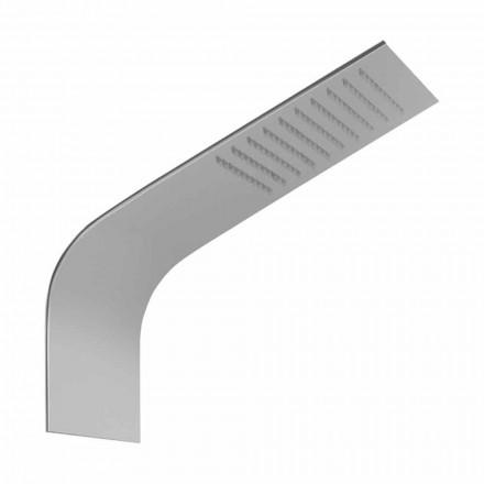Chuveiro Slim Steel com Rain Jet Made in Italy - Vispo