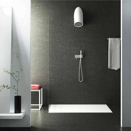 Cabeça de chuveiro moderna parede em Luxolid fez 100% na Itália, Rubano